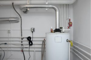 Heating system repair at a house in Hinsdale, Illinois